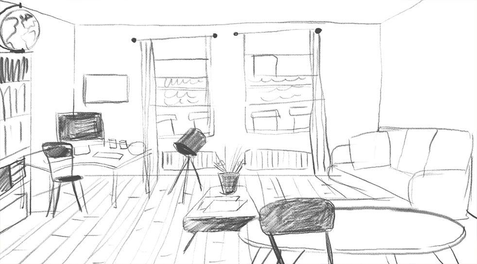 room4 small sketch